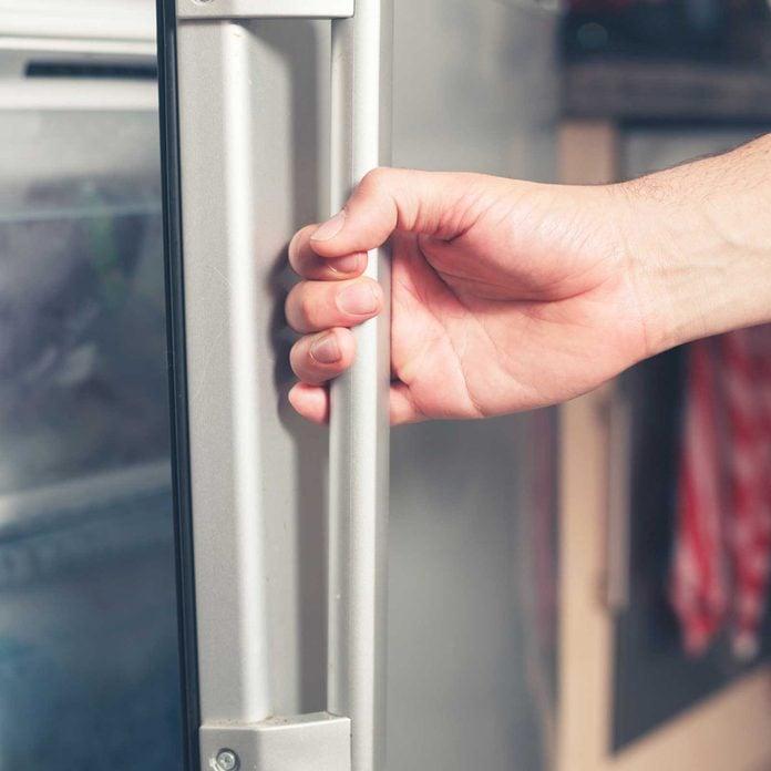 fridge handle