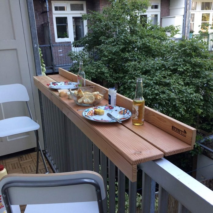 balcony bar deck rail bar