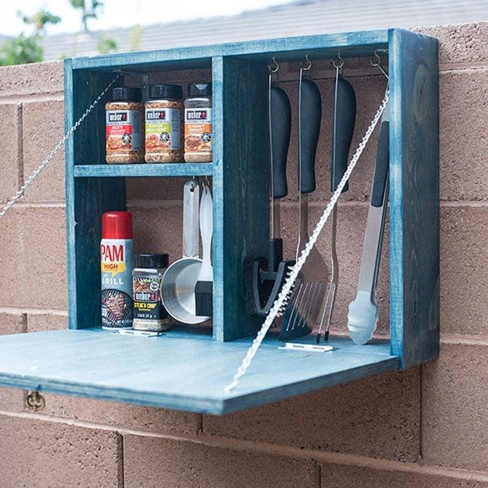 grill tool holder