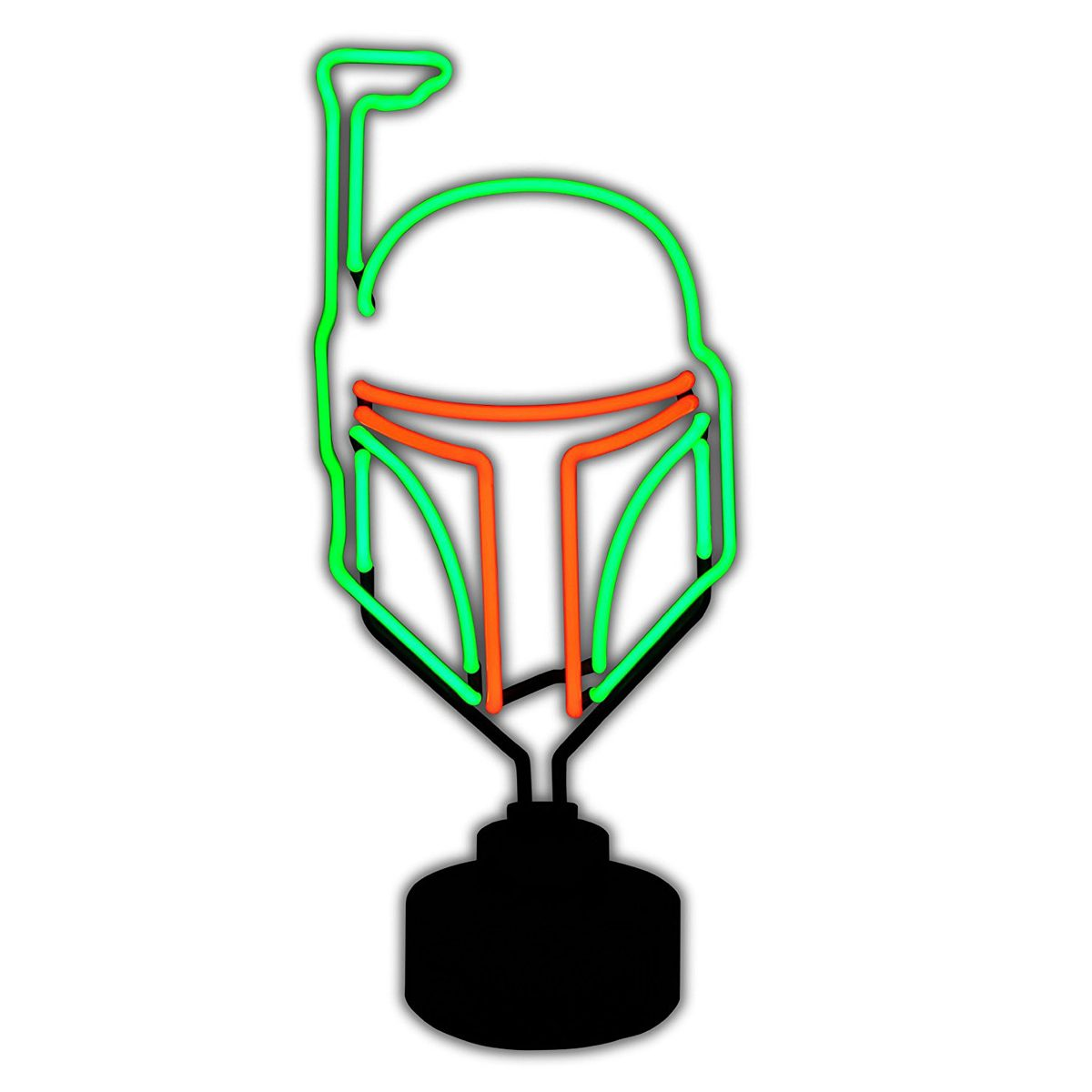 star wars boba fett neon light