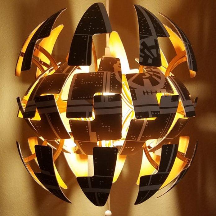 star wars death star lamp