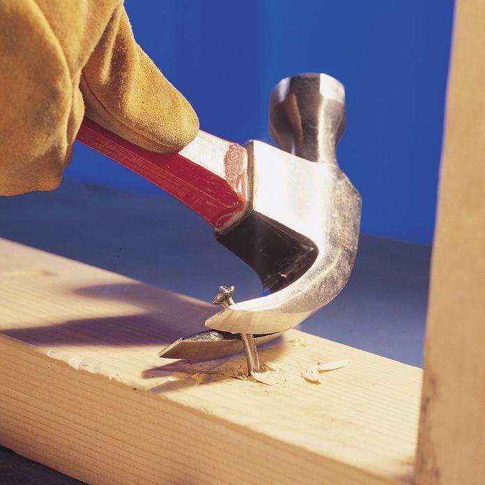 remove stuck nails