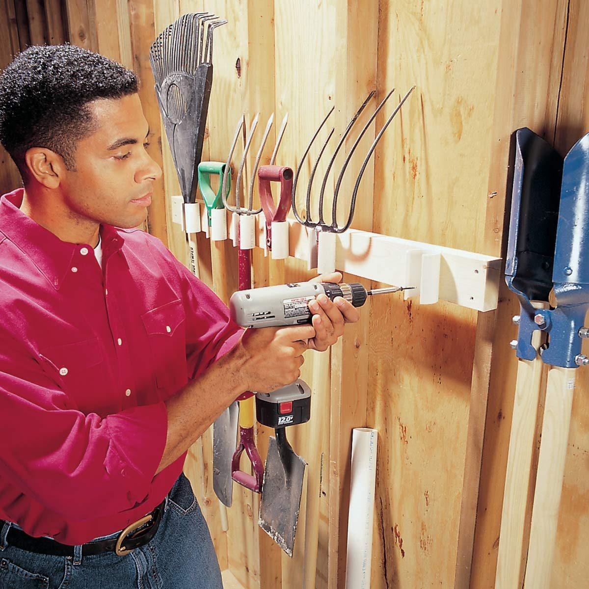 Pvc Tool Holder The Family Handyman