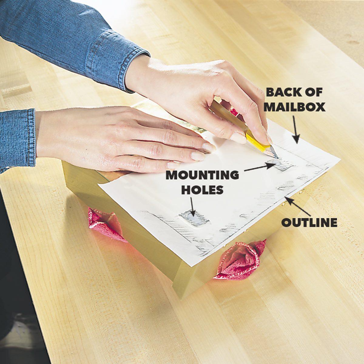 mailbox mount