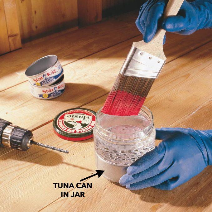 Tuna can jar