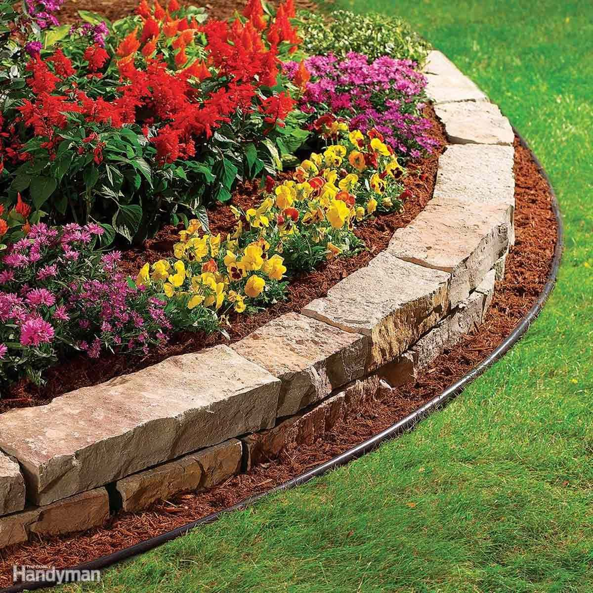 Why You Should Consider Creating a Garden Bed Edging ...
