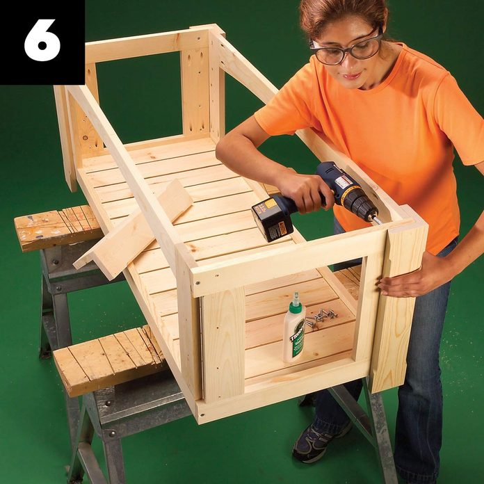 Outdoor Storage Bench 6