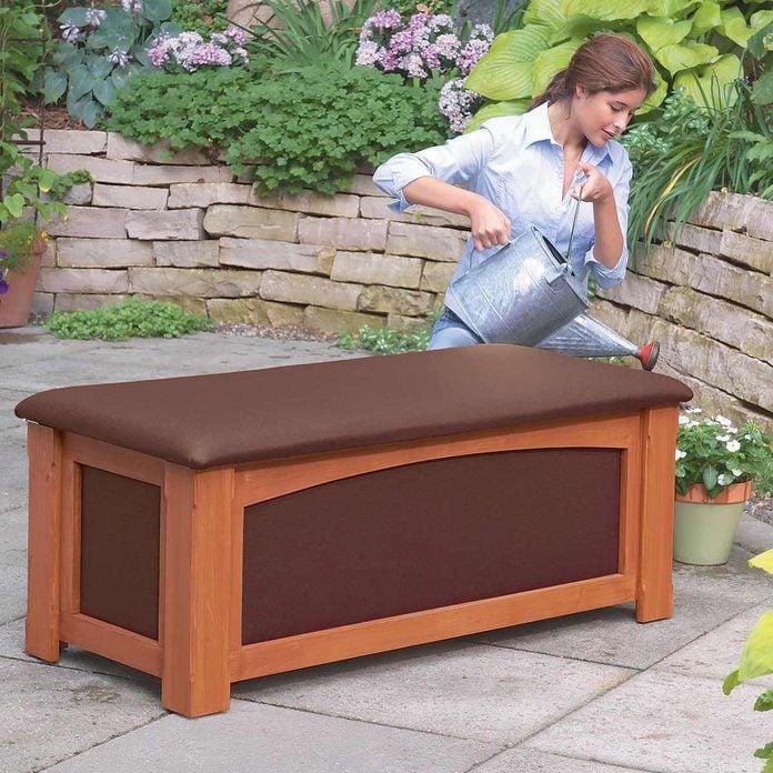 Outdoor Storage Bench Lead outdoor storage bench waterproof