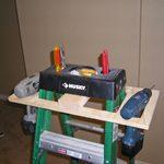 Ladder Hack: Onboard Tool Storage