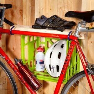 Storage Hack for Bike Gear