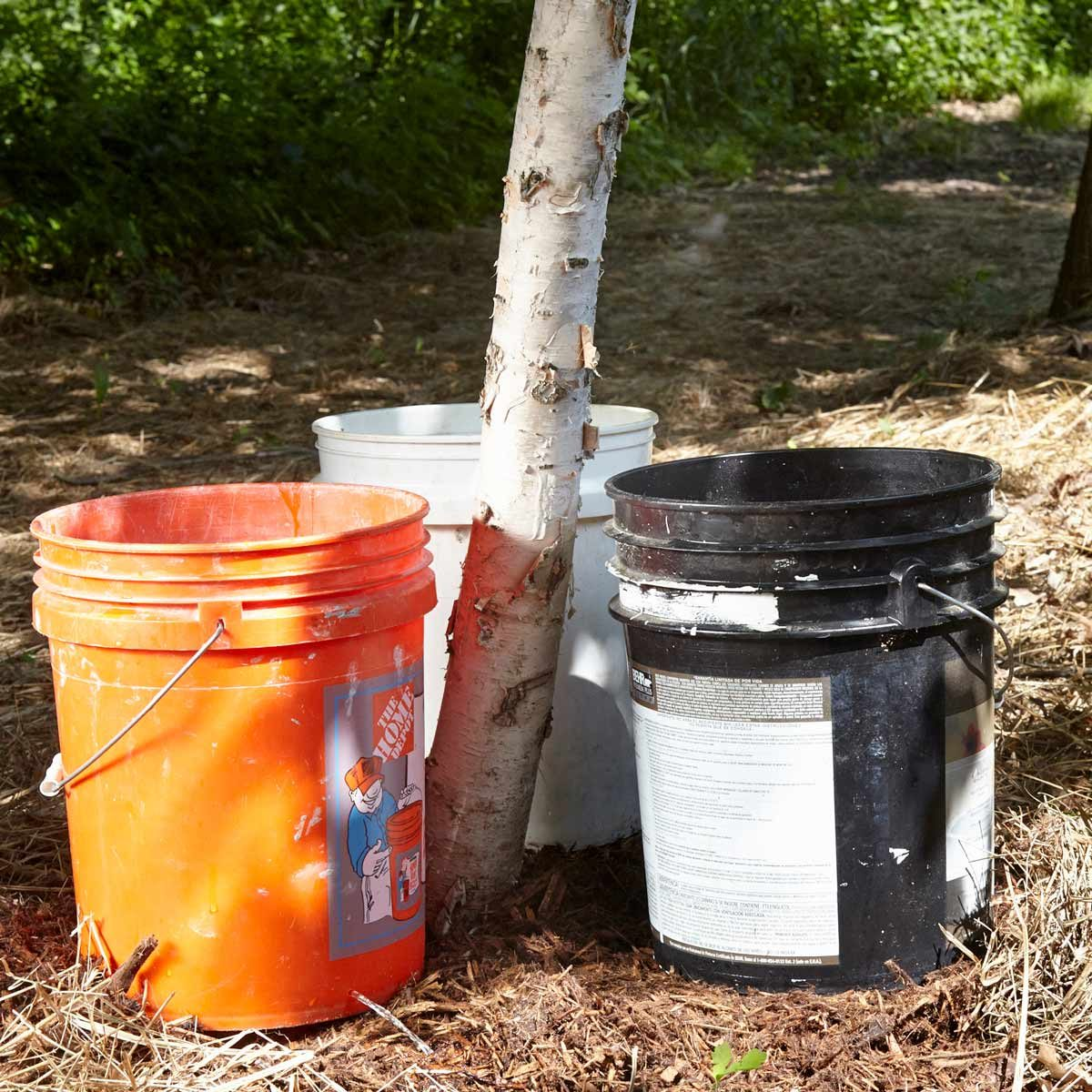 5-Gallon Bucket Hack: Better Tree Watering | The Family Handyman