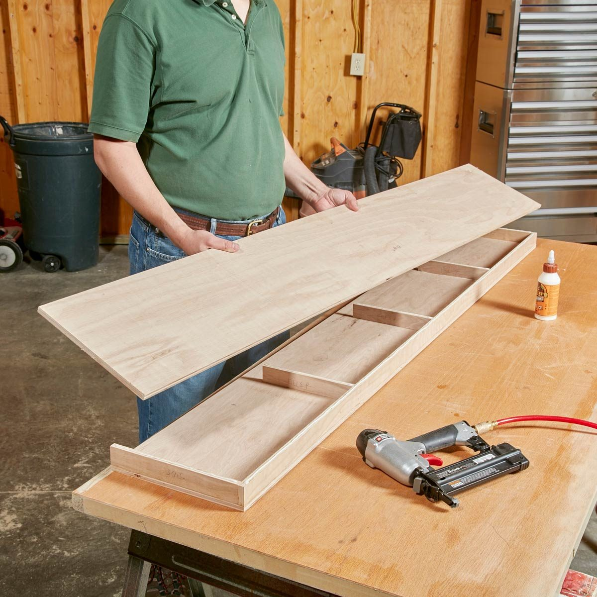 How To Build Floating Shelves The