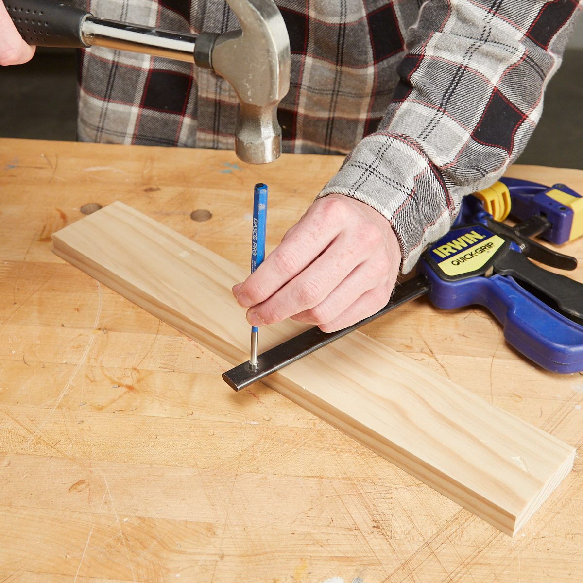 trigger-style bench clamps | the family handyman