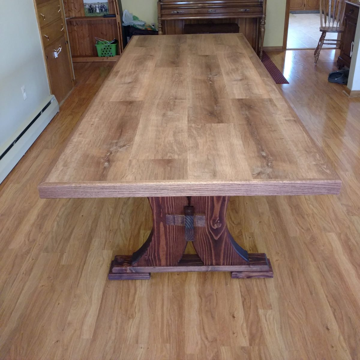 Reader Project: Modified Viking Table and Bench — The Family Handyman