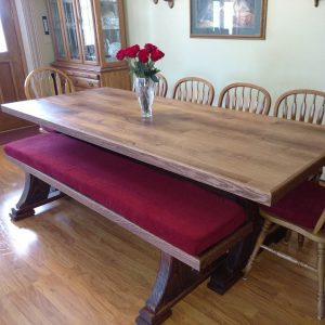 Reader Project: Modified Viking Table and Bench