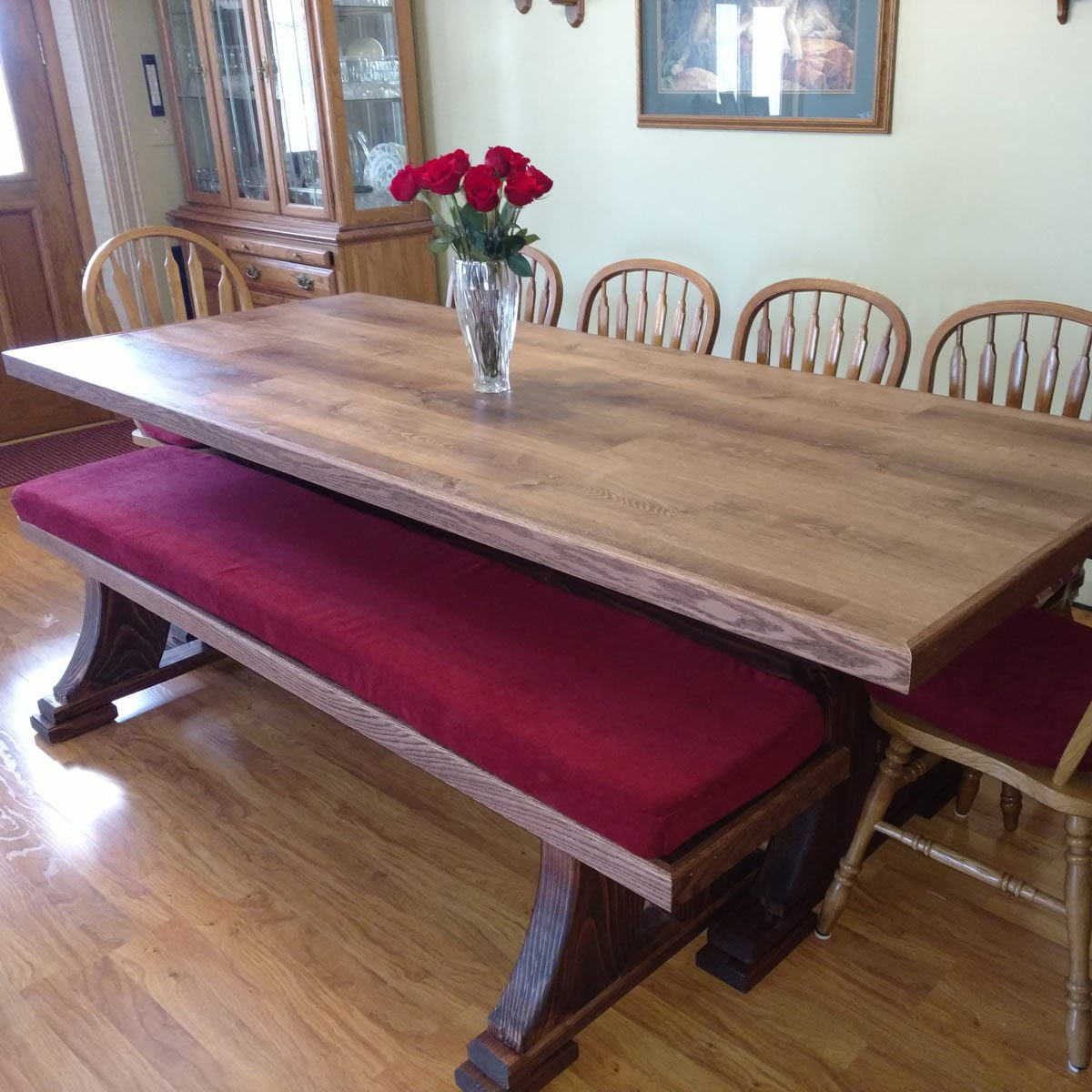 Reader Project Modified Viking Table And Bench The
