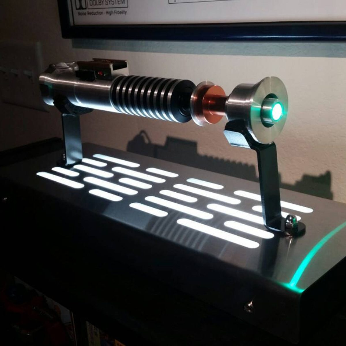 star wars lightsaber display