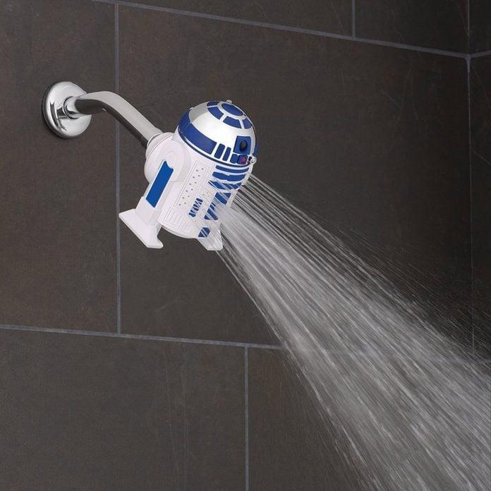 star wars r2d2 showerhead