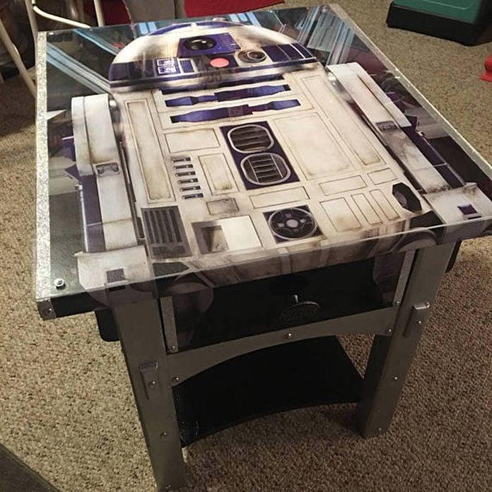star wars r2d2 table