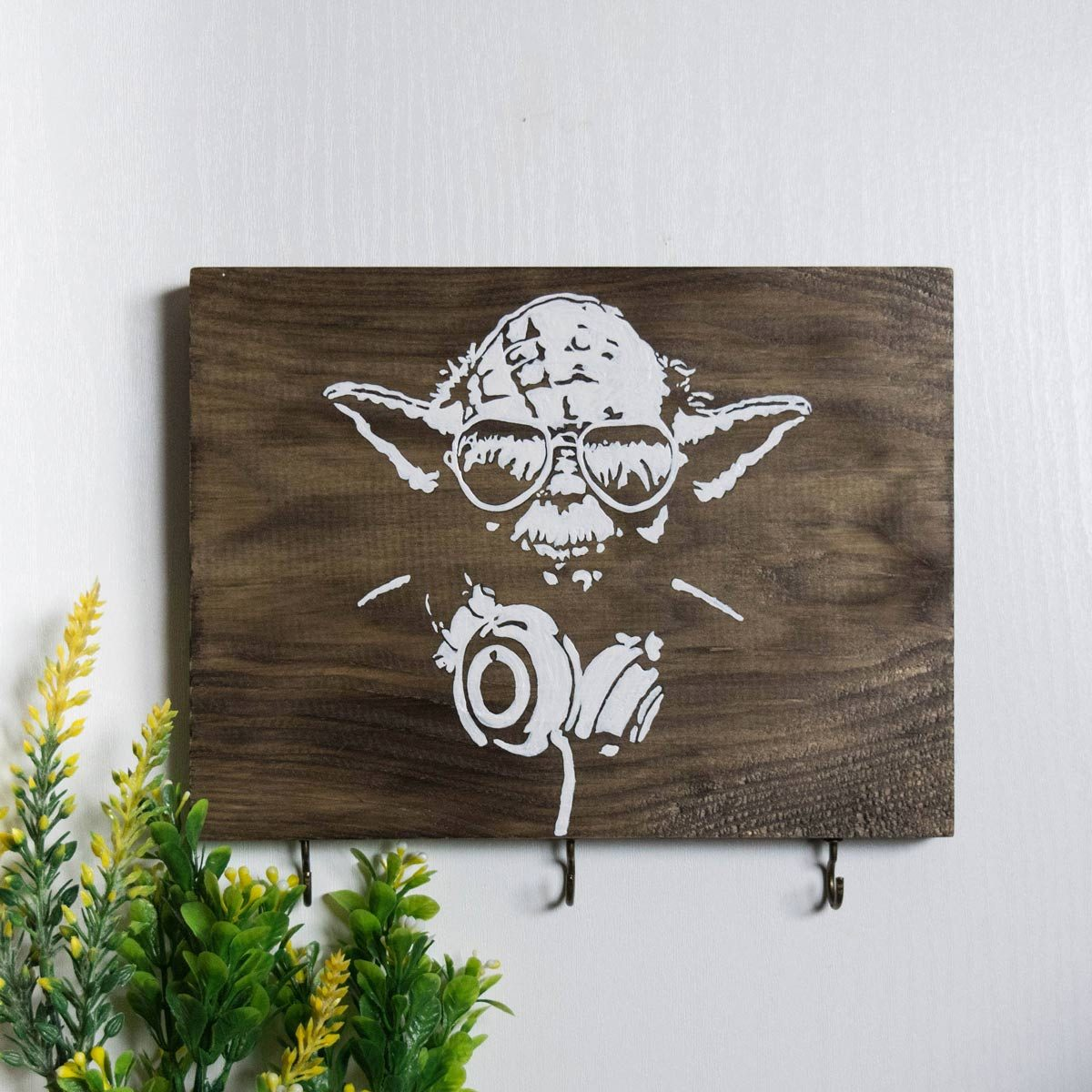 star wars yoda coat rack