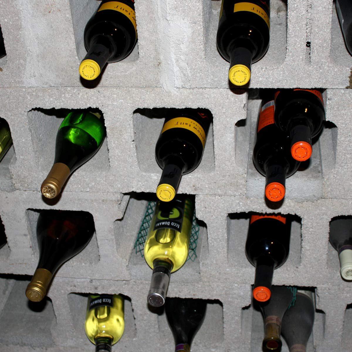 cinder-block wine