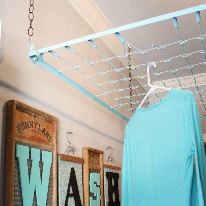 crib spring drying rack