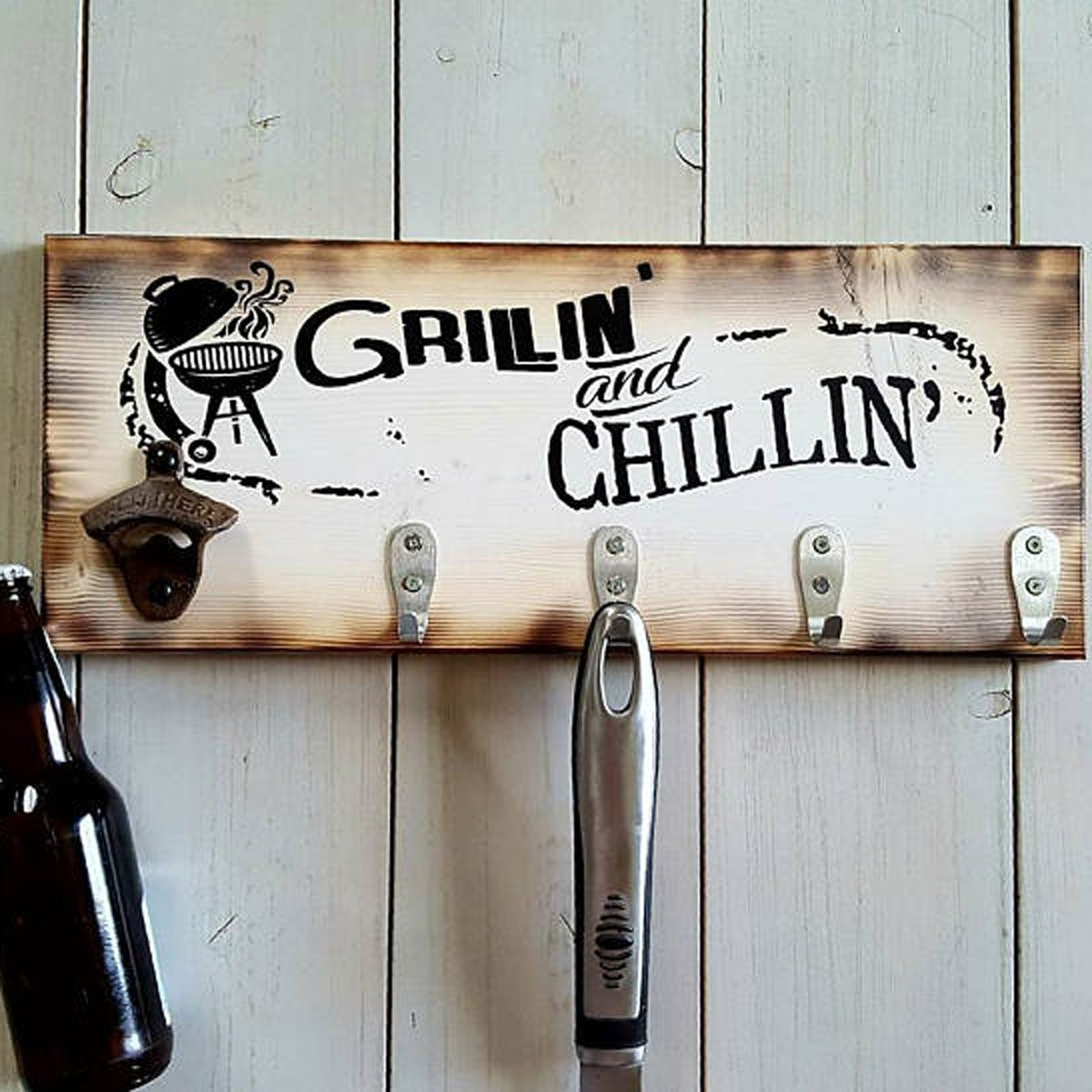 grill tool hanger