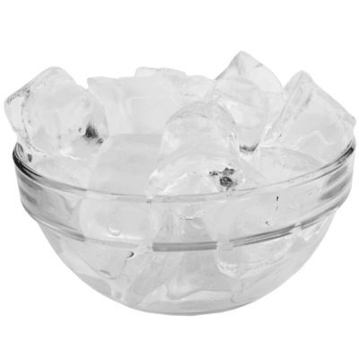 bowl of ice