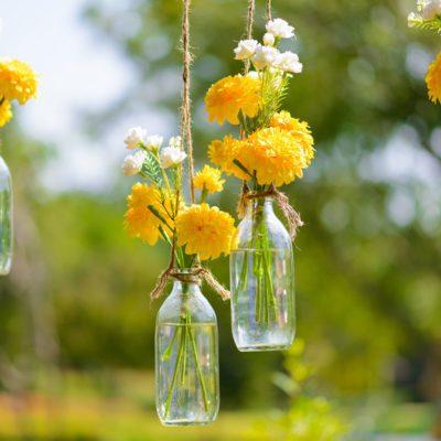 hanging floweres