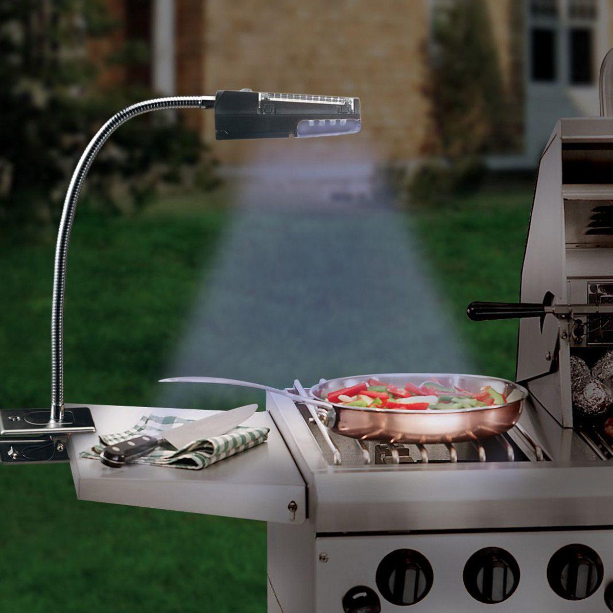 solar powered grill light