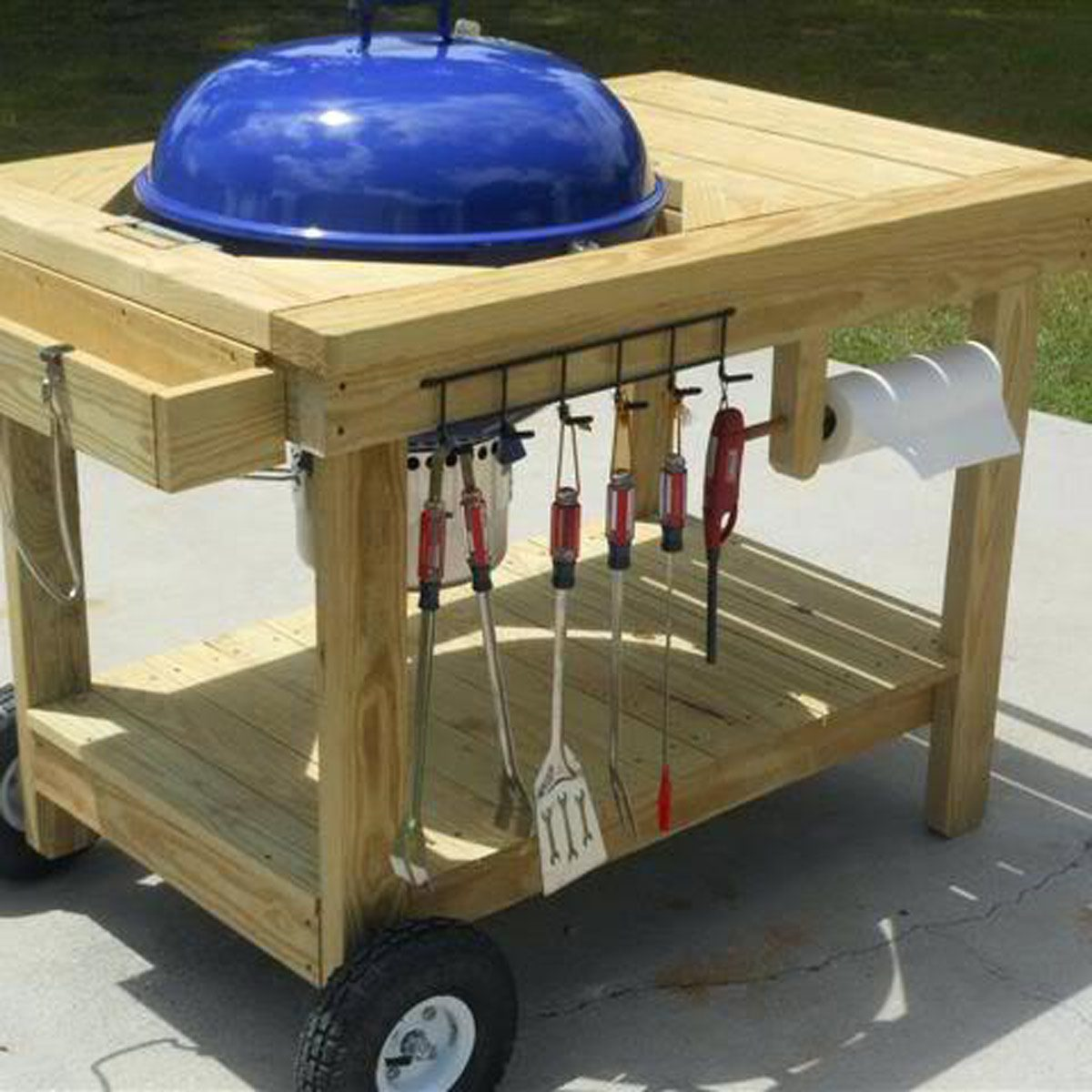 13 Brilliant Ways To Store Grill Tools The Family Handyman