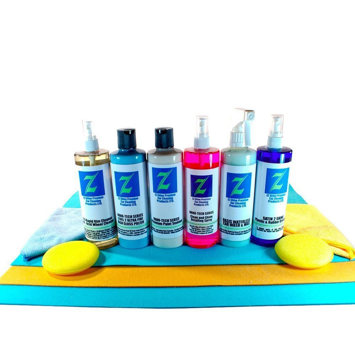 2ez car interior cleaning kit