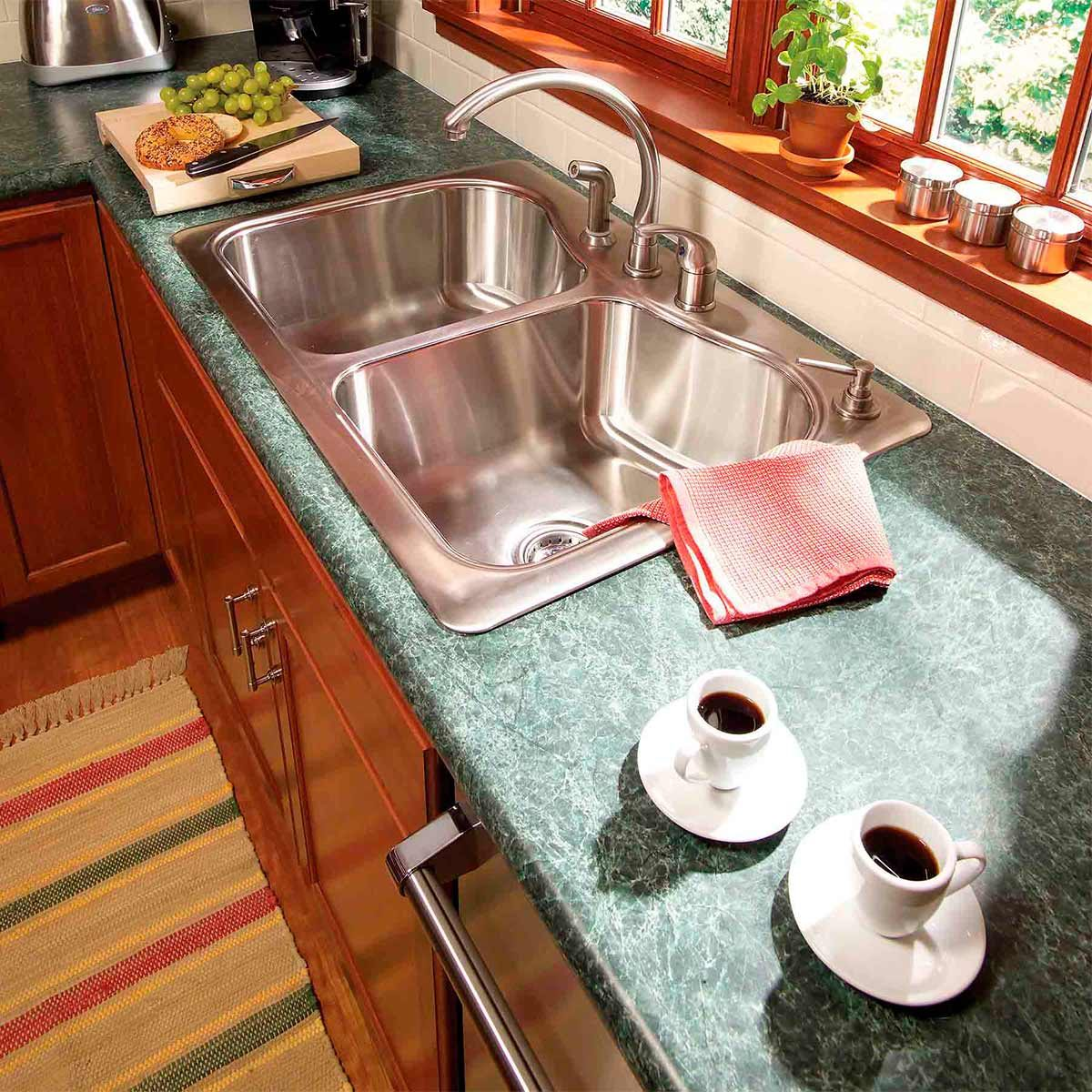 refreshed countertop