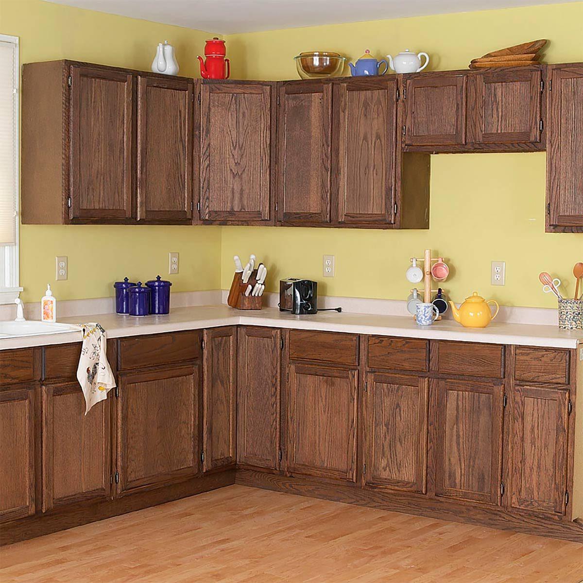 cabinet facelift