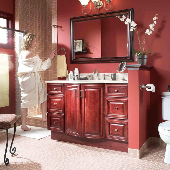 bathroom vanity upgrade after