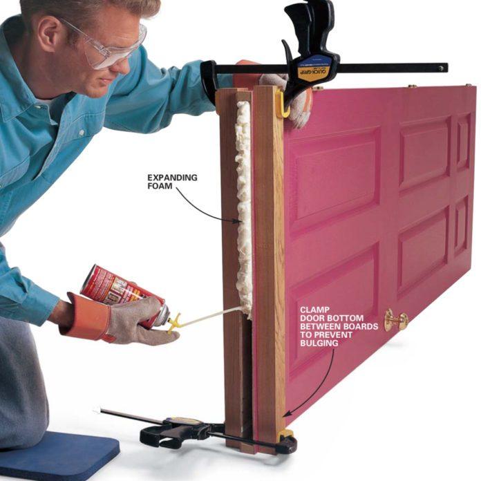 Hollow Door Fix: New Bottom for Hollow Core Doors