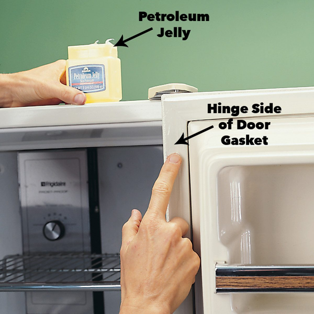 How to Replace A Refrigerator Door Gasket | The Family Handyman