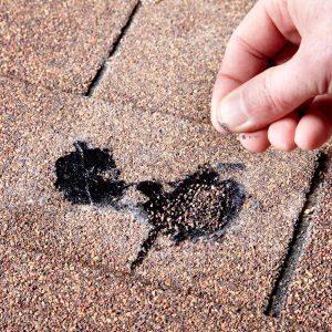 Shingle Hole Roof Patch