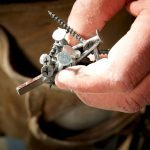 Tool Belt Hardware Organizer