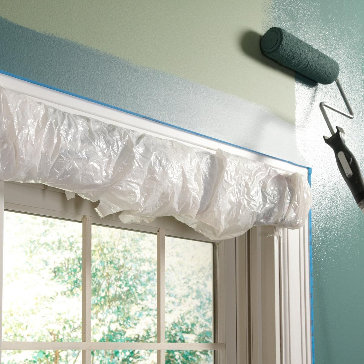 splatter-proof window treatments | the family handyman
