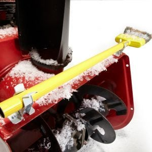 DIY Snow Blower Chute Sweeper