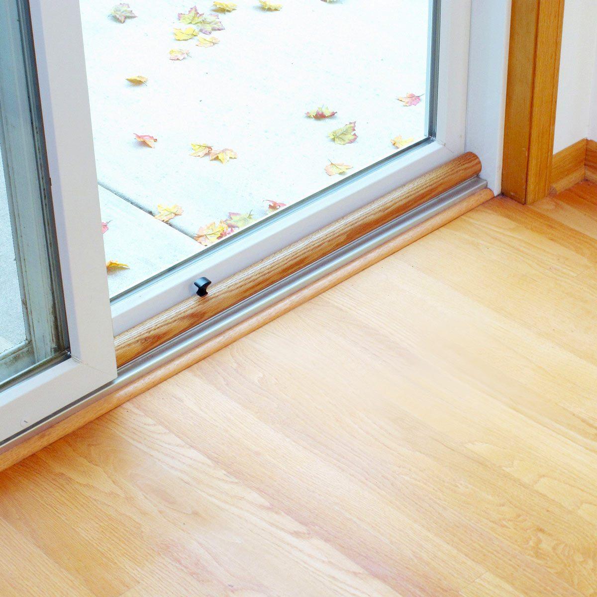a classier idea for sliding door security | the family handyman