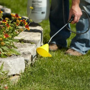 Lawn Chemical Overspray Prevention