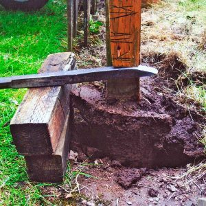 Remove That Wooden Fence Post with These 5 Easy Steps
