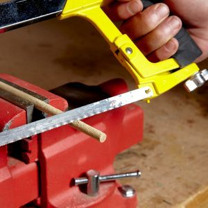 How to Make Your Own Fluted Dowels Using a Handsaw