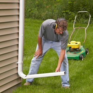 How to Make Stay-Put Downspout Extensions