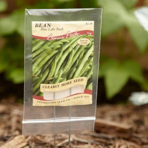 Reuse Empty Seed Packets in Your Garden