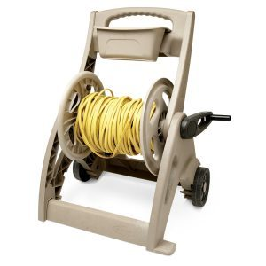 garden hose reel cord holder