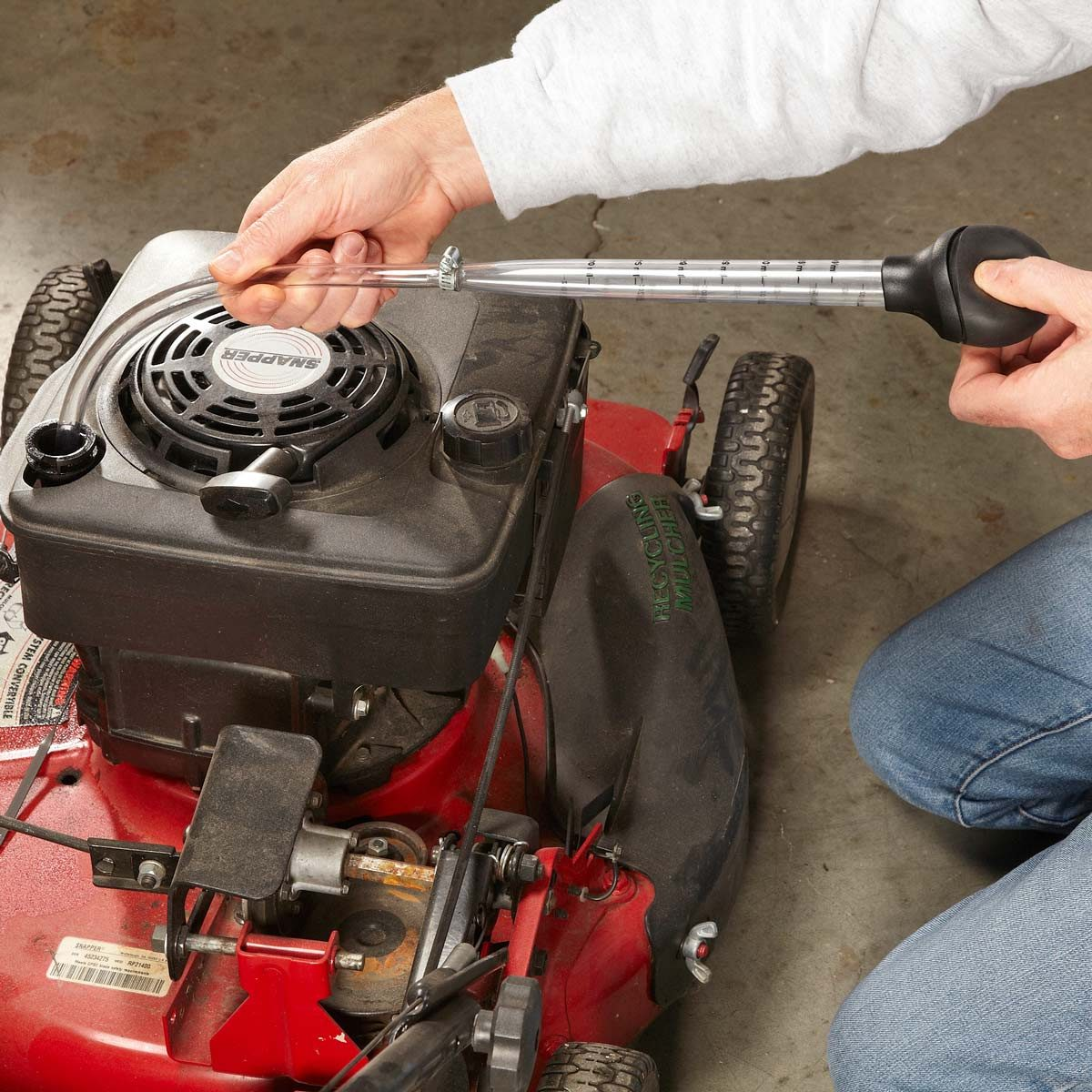 Can I Drain The Gas Out Of My Lawn Mower