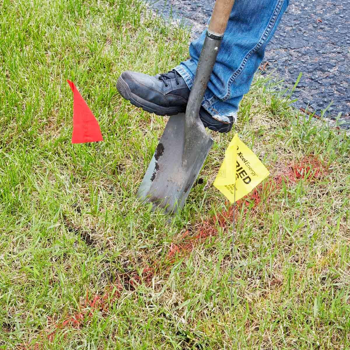 dig around utilities